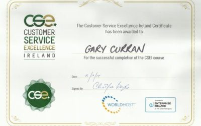 Customer Service Excellence Award 2016