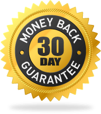 100% No-Questions-Asked Money Back Guarantee