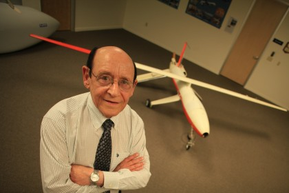 "One of the experts who appeared in Nova's ""Rise of the Drones"" was Abe Karem, creator of the Predator drone. Critics of the broadcast faulted Nova for not disclosing Karem's business relationsihp with Lockheed Martin, corporate sponsor of the series at the time of the broadcast. (Photo: WGBH)"