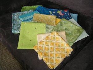 Quilt material selection