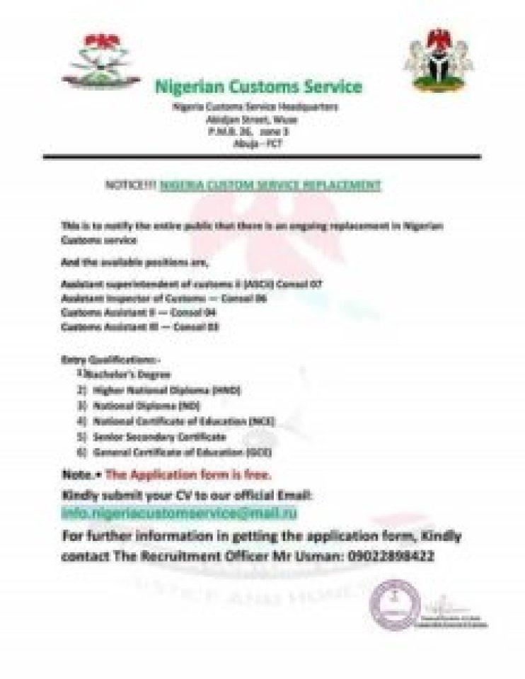 fake-customs-job-letter
