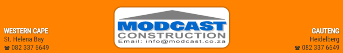 Modcast Construction