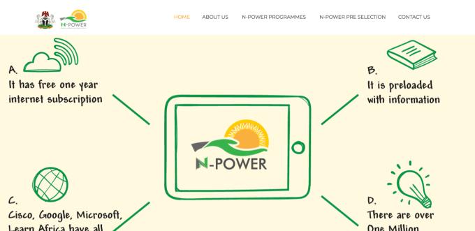 N-Power Recruitment Dashboard 2020