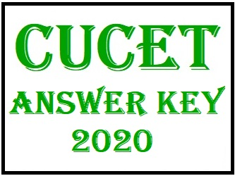 CUCET 2020 Answer Key, Provisional/ Final Answer Key   Get Here