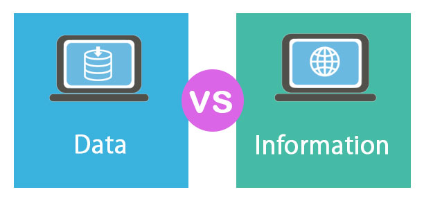 What are the 10 Difference Between Data and Information?