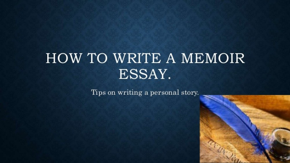 Memoir Essay Examples | Guide on Writing a Good Memoir Essay