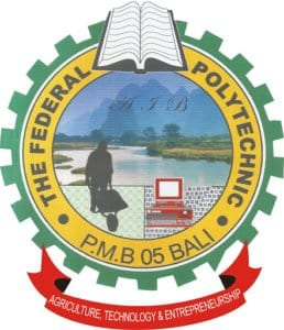 Federal Poly Bali Post UTME Form