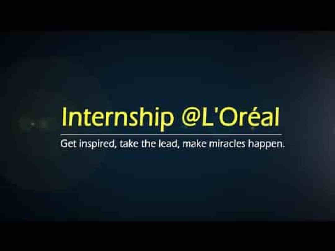 L'oreal Internships and How to Apply 2021 Portal Updates
