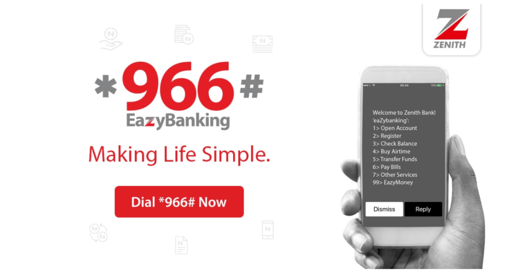 Zenith Bank Transfer Code *966# Eazy Banking | A Complete Guide