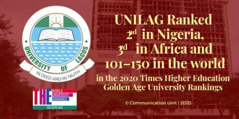 UNILAG the Golden Age University Rankings