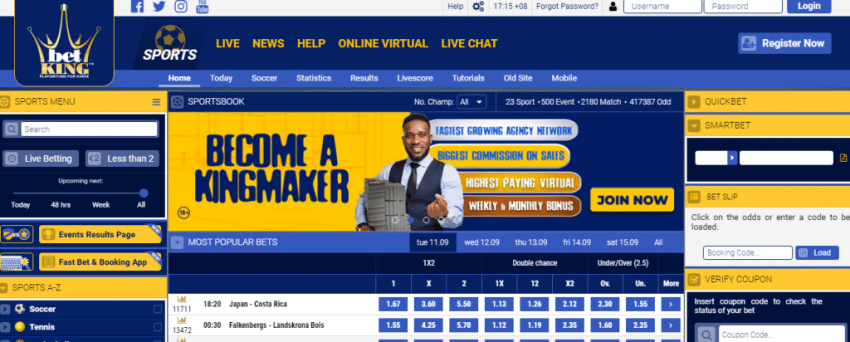 BetKing Mobile Coupon Check Guide 2021: See How to Check Bet Slip