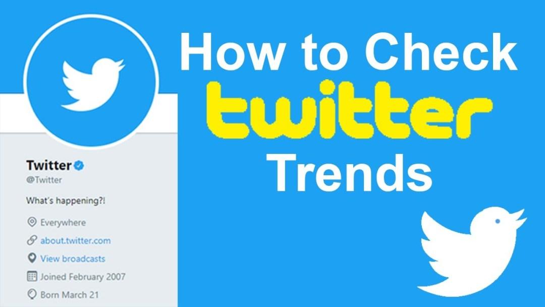 Trending on Twitter Nigeria Today Folgen Sie jetzt den Top 8 Twitter-Trends