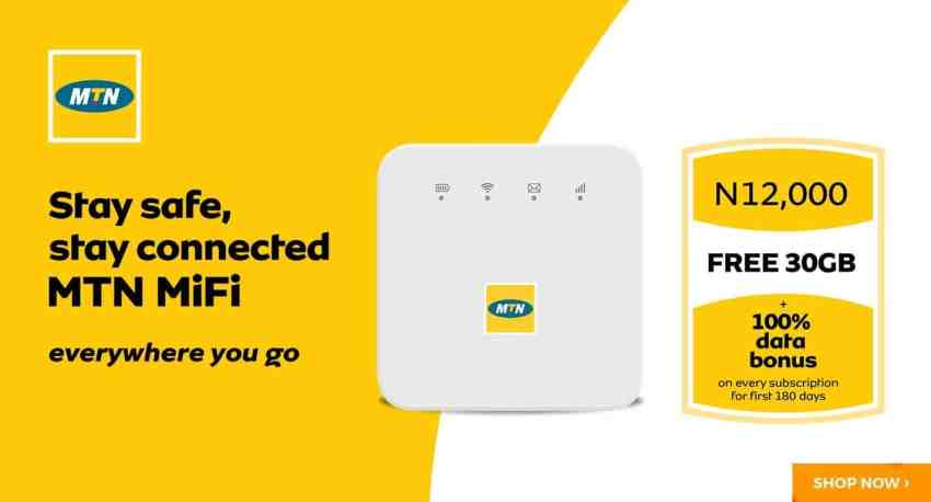 MTN MiFi 2021 Check Data Plans, Router Login, and Subscription Steps.