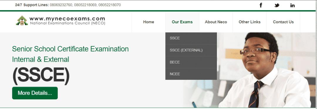 National Examinations Council Recruitment 2021/2022 www.mynecoexams.com Portal