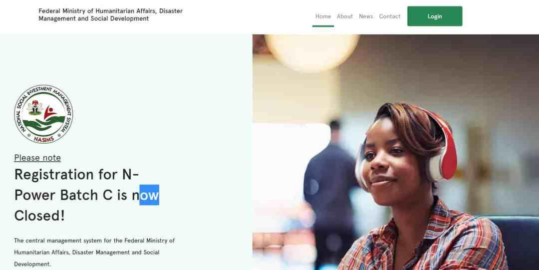 NASIMS Portal 2021/2022 See Latest Application Form Portal