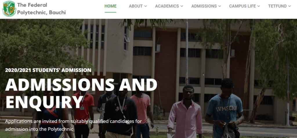 FPTB HND Admission List 2020