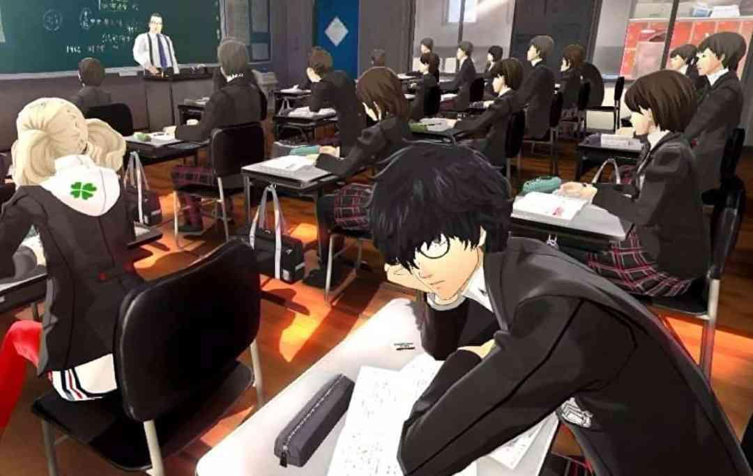 Persona 5 School Questions