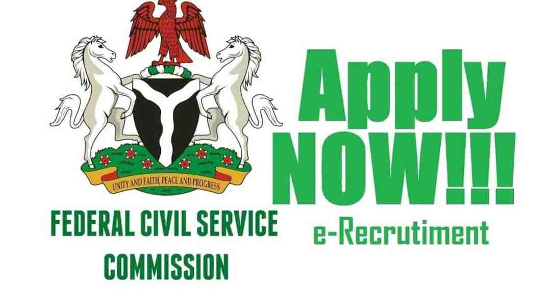 Apply Now For Federal Civil Service Commission Ongoing Recruitment 2021