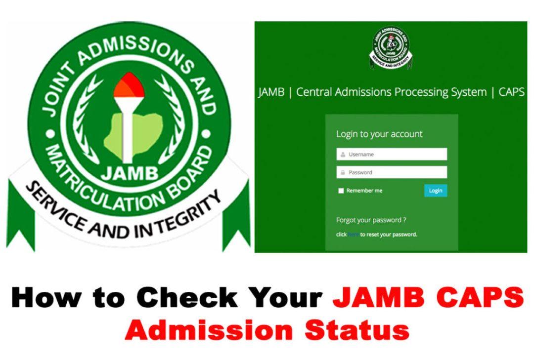 check admission status