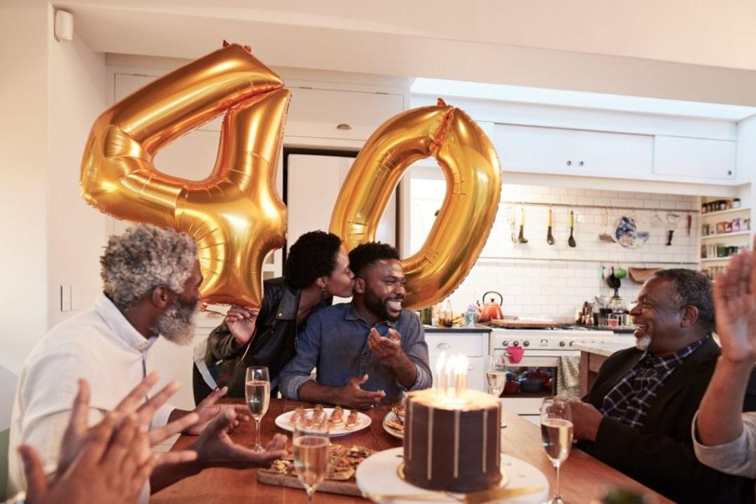 Adults Celebrating