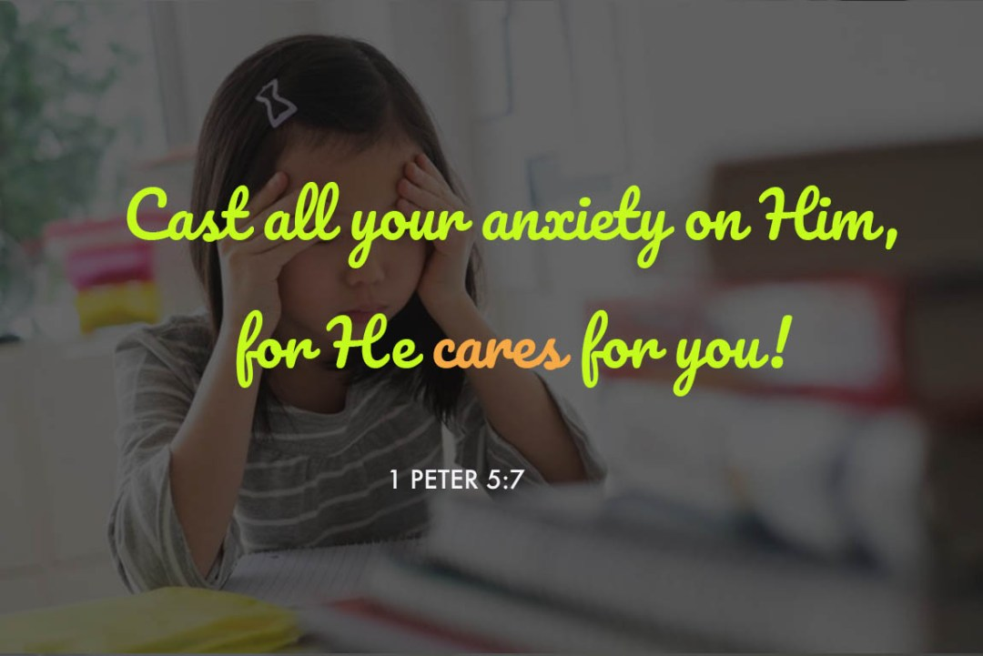 Soothing Bible Verses About Anxiety to Calm your Nerve