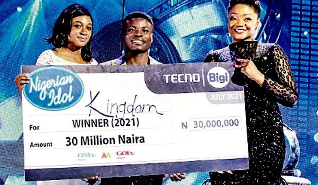 Nigerian Idol 2021 Winner