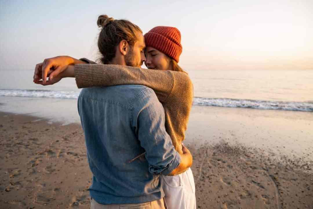 Couple Enjoying Companionship