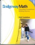 Bridgeway Math Book 1 Math Foundations from Bridgeway