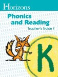 Horizons Kindergarten Phonics & Reading Teacher's Guide 4 from Alpha Omega Publications