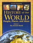 History of Our World Book I by Steck-Vaughn