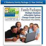 2 Students Family Package Online Edition