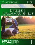 English Grammar Skills Chapter 1 Text from Paradigm Accelerated Curriculum