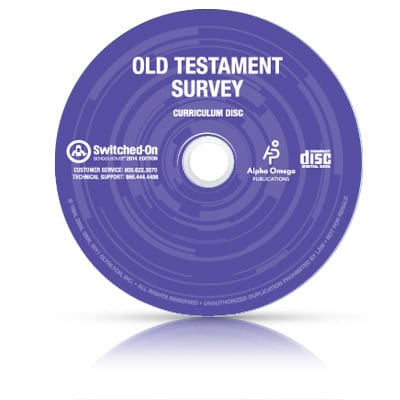 Switched-On Schoolhouse 10th Grade Old Testament Survey from Alpha Omega Publications