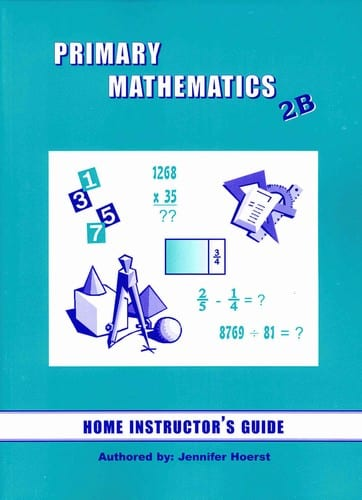 Primary Math Home Instructor's Guide 2B US Edition by Singapore Math