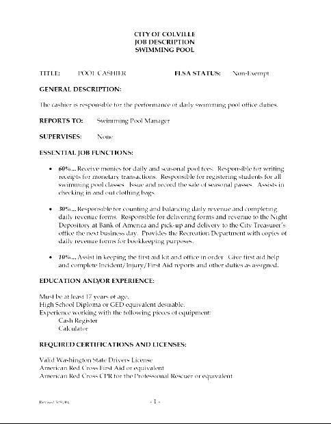 Sample Resume Skills For Cashier Cashier Resume Sample Job Interviews Shine Resume  Cashier Skills List For  Cashier Description For Resume