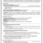 resume template computer programmer free samples examples