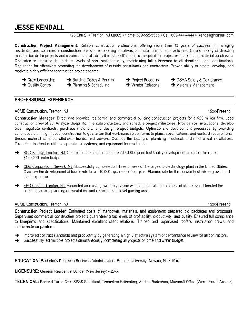 Qc Resume Format Resume Format Download Pdf Brefash  Resume For Supervisor