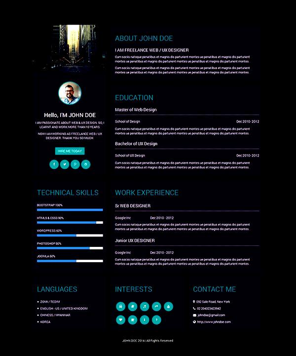 cv examples resume and resume format on pinterest interior design