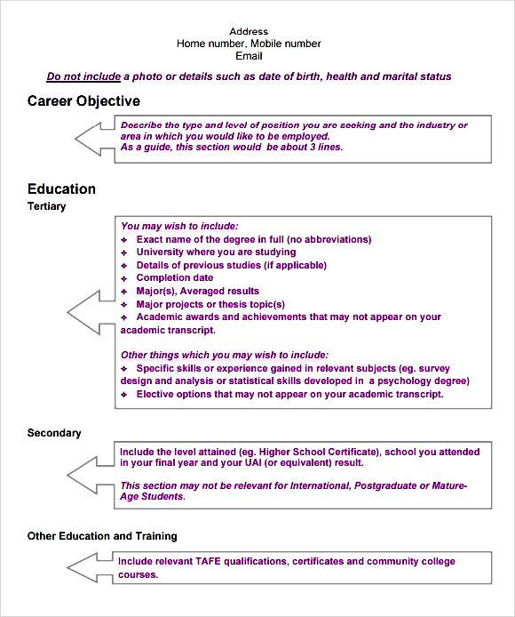 modern cv modern cv template pdf free samples examples amp format