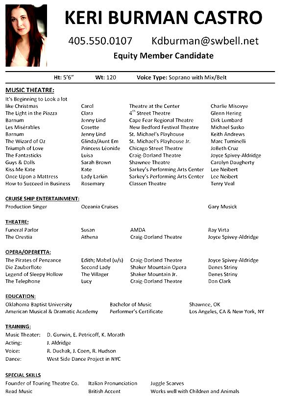 musician resume template smlf musician resume template sample music
