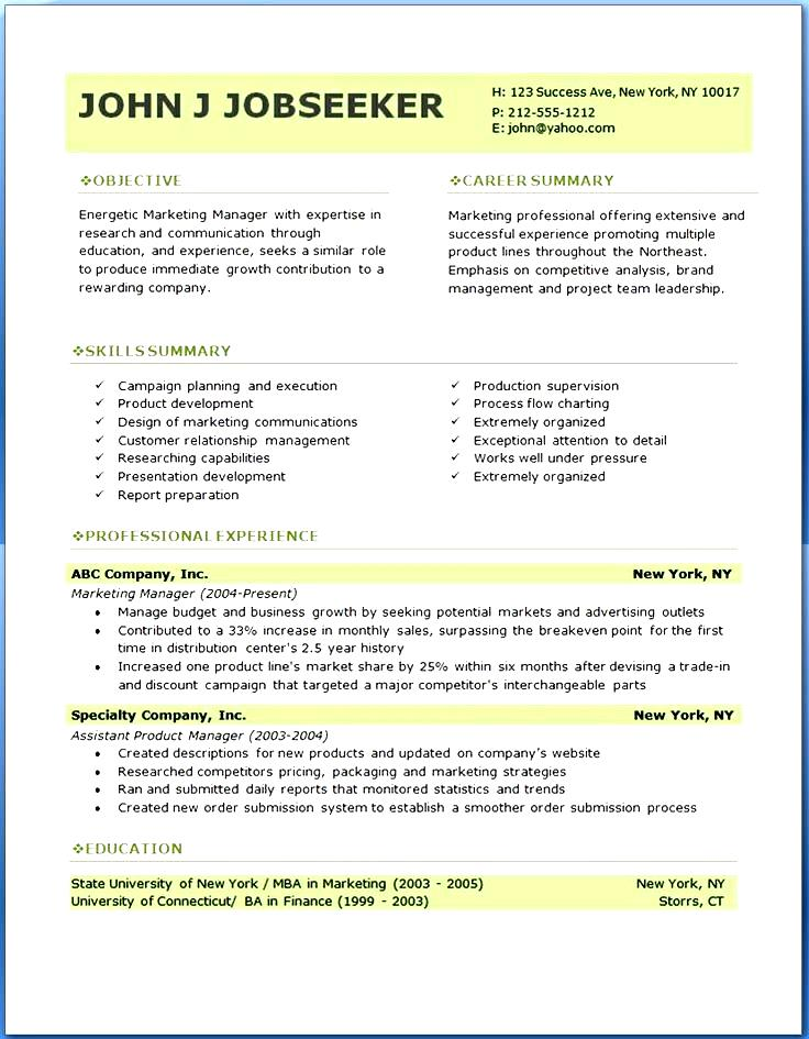 professional resume templates sample free samples examples