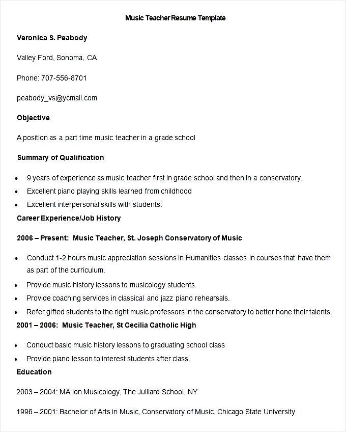 sample educator resume resume teacher sample educator resume