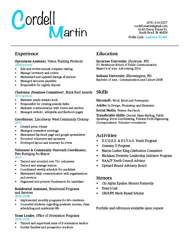 sample resume for student finance student resume example sample