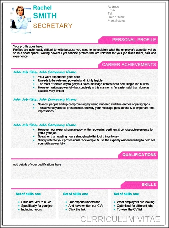 best modern resume template free samples examples amp format resume