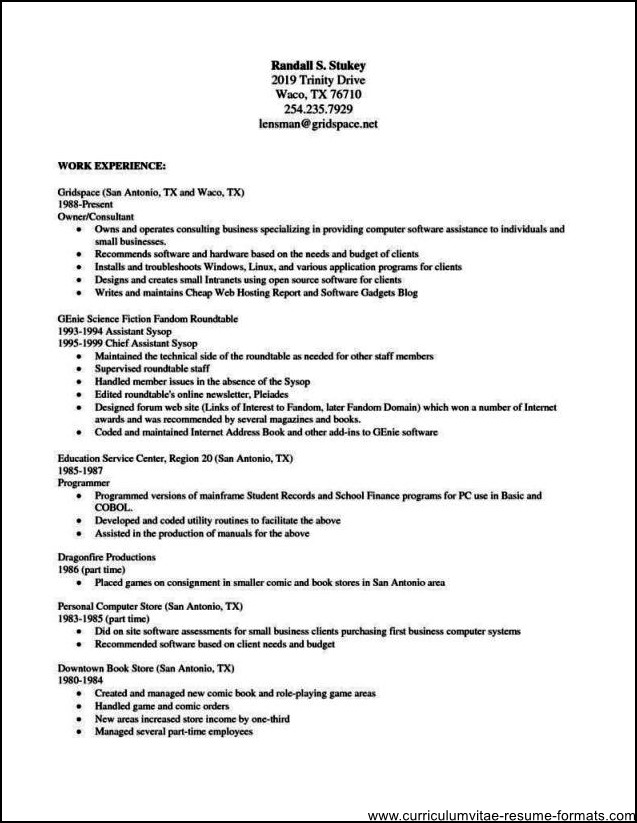Resume Template Openoffice Open Office Download Sample
