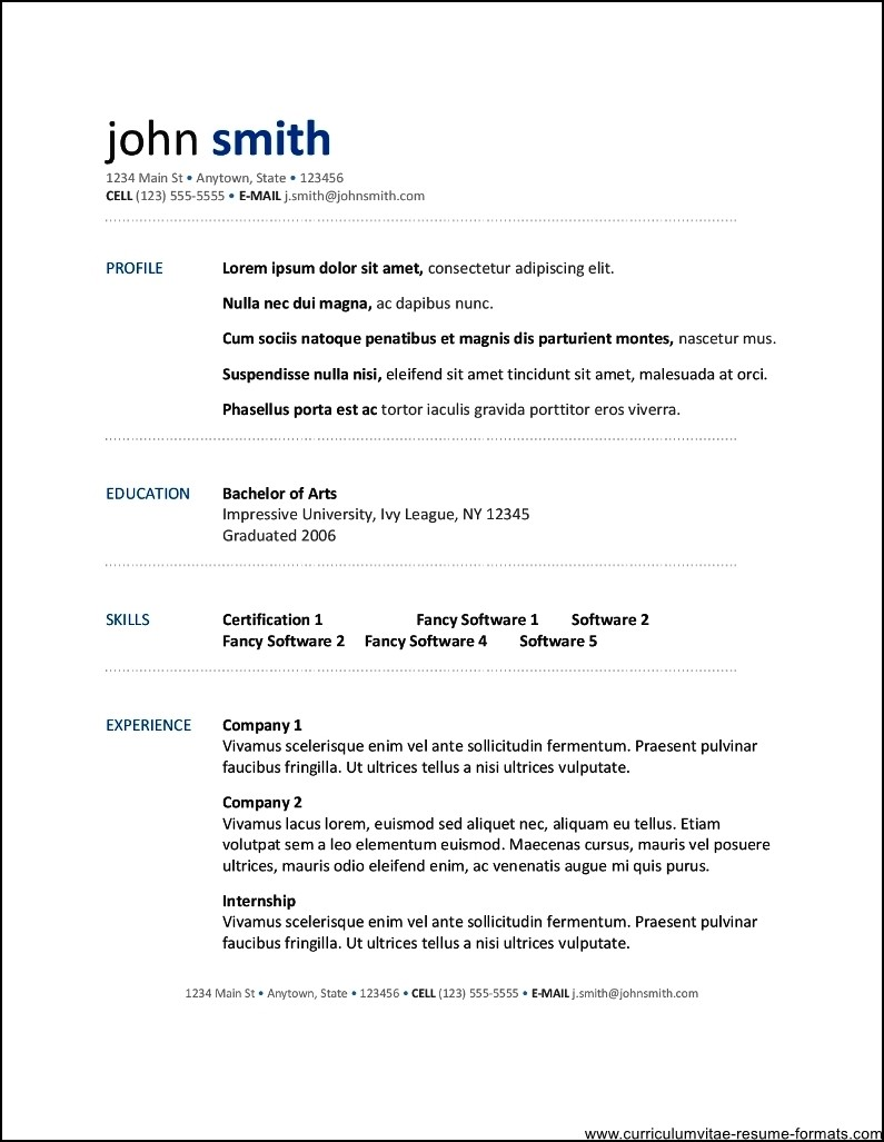 Open Office Resume Template Download. free elegant. electrimate was ...