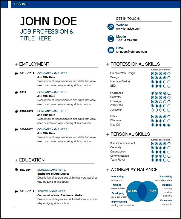 modern resume sample free samples examples amp format resume