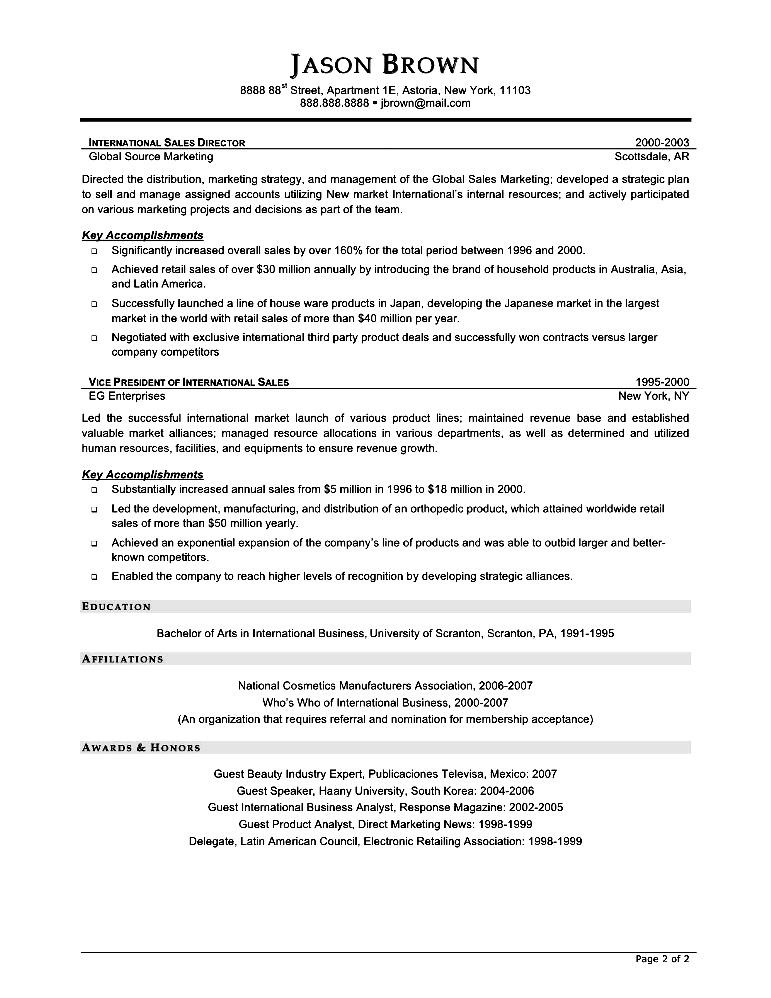 Charmant Entry Level Account Executive Resume Resume Format