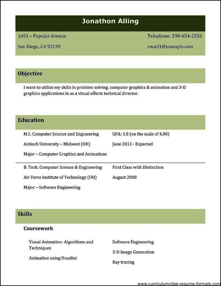 resume samples for experienced professionals free download free