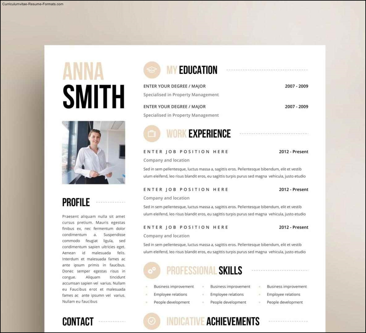creative resume templates free word free unique resume templates